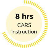 gold seal, 8 hrs CARS instruction