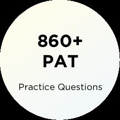 860 questions PAT
