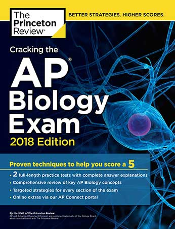AP Biology Exam Book Cover