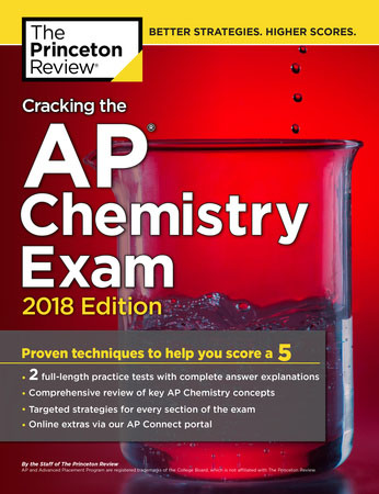 AP Chemistry Cram Course Exam Book