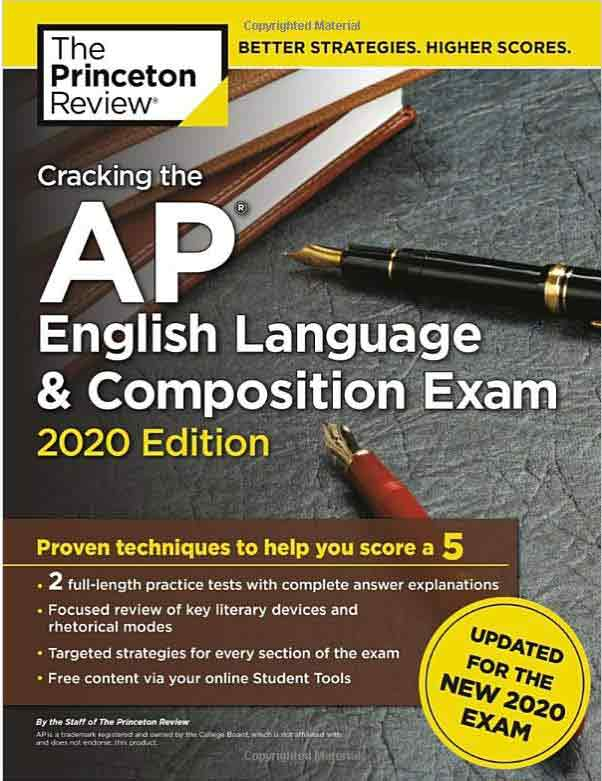 AP English Language Exam Book Cover
