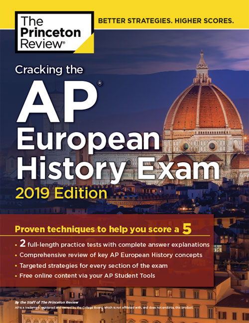 AP Eupropean History Exam Book