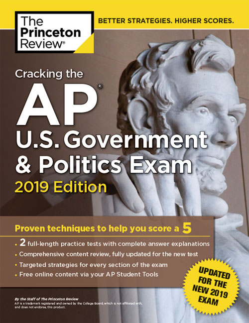 AP US Government & Politics Exam Book