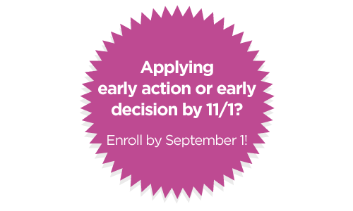Applying early action of early decision by 11/1? 