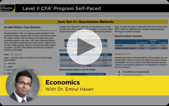 CFA Level II Video