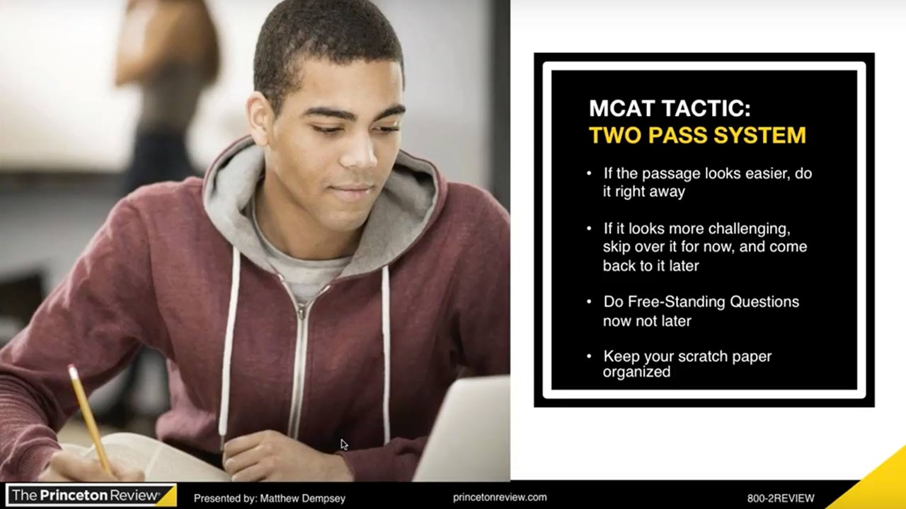 MCAT Spotlight: Critical Analysis and Reasoning Skills  webinar