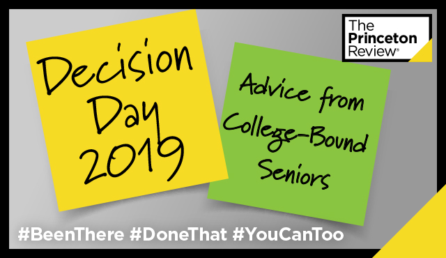 National College Decision Day 2019