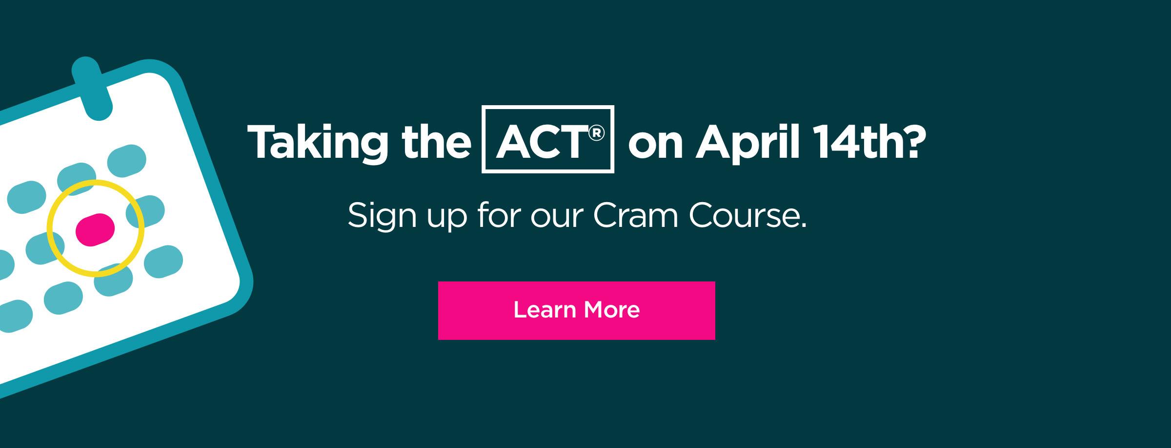 ACT Cram Course