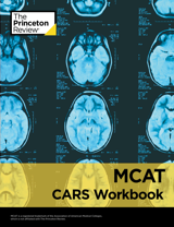 MCAT CARS Workbook book cover