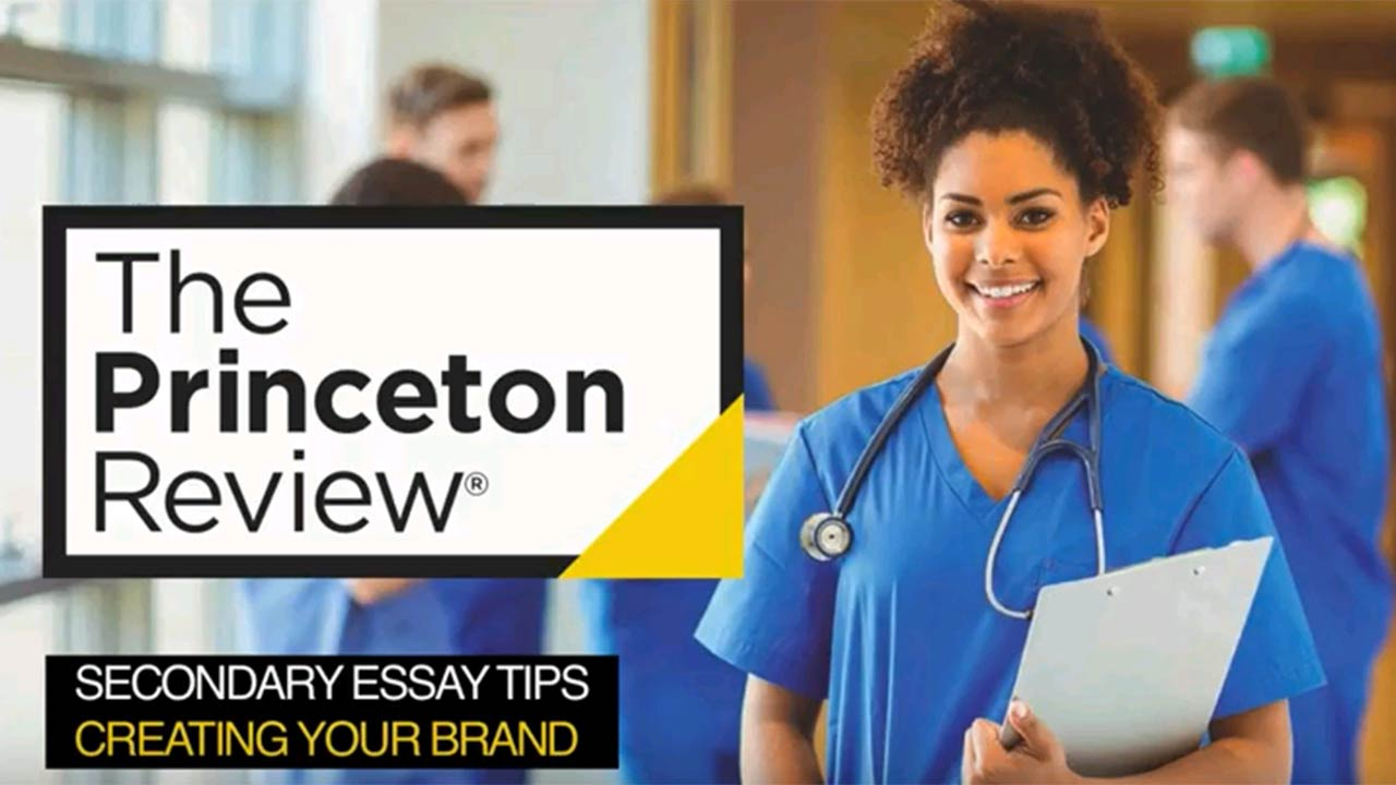 Med School Admissions: Personal Branding for Secondaries & Beyond webinar
