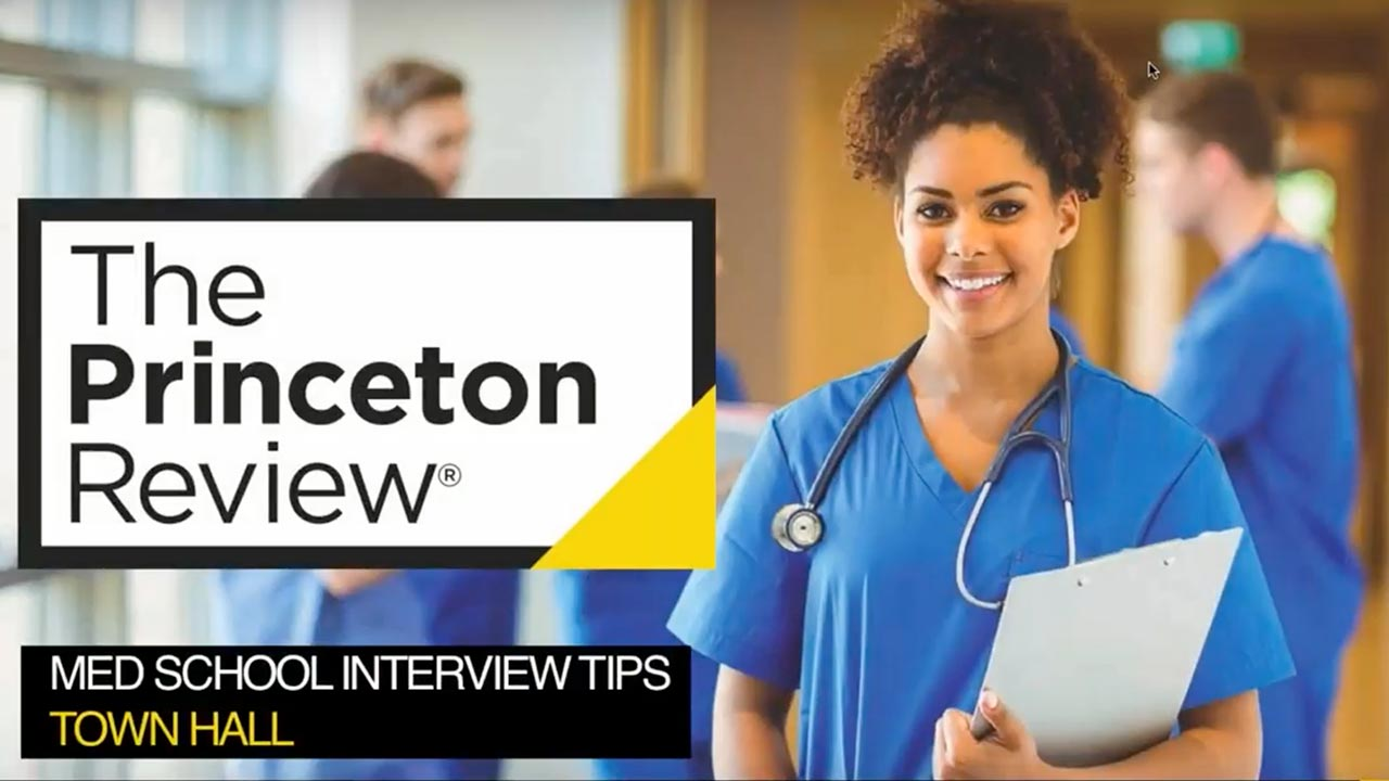 Med School Interview Tips – Town Hall Presentationd webinar