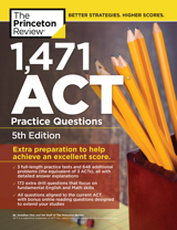 1,471 ACT Practice Questions book