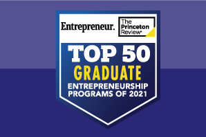 2021 Top Schools for Entrepreneurship: Graduate