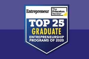 Top Entrepreneurship 2020 seal
