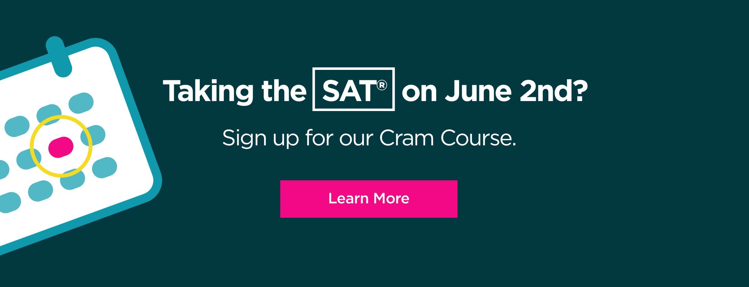 June SAT Cram