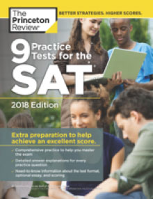 9 Practice Tests for The SAT