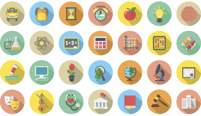 sat subject test icons