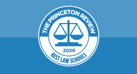 Best Law Schools 2020 seal