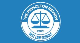 Best Law Schools 2021 seal